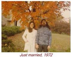 Just married, 1972